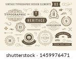 vintage typographic design... | Shutterstock .eps vector #1459976471