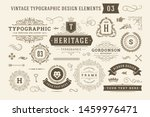 Vintage Typographic Design...