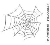 spider web for halloween design ...   Shutterstock .eps vector #1460000684