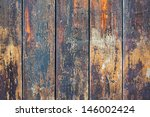 Old Grunge Wooden Wall Planks...