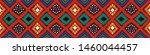 ikat geometric folklore... | Shutterstock .eps vector #1460044457