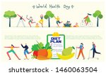 food  diet  healthy lifestyle... | Shutterstock .eps vector #1460063504