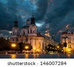 St. Nicolas Church In Prague At ...