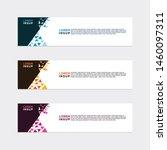 modern style of web banner... | Shutterstock .eps vector #1460097311