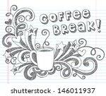 coffee mug back to school...   Shutterstock .eps vector #146011937