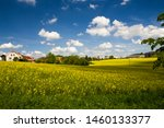 Rural Houses And Large Barns In ...