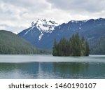 Packwood lake, cascade mountains, washington