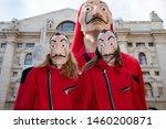 milano  italia   july 10   two... | Shutterstock . vector #1460200871