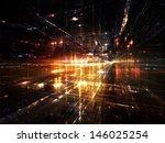 fractal city series. creative... | Shutterstock . vector #146025254