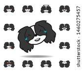 pekingese emoji joy...