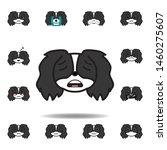 pekingese emoji scared...