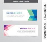 banner vector template...   Shutterstock .eps vector #1460300837