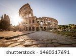 Colosseum At Sunrise  Rome ...