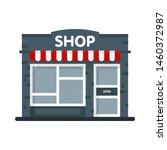store building facade icon....   Shutterstock .eps vector #1460372987