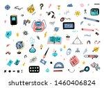 Doodle School Supplies Icons...