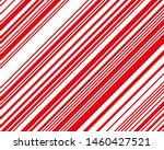 Red  And White Sloping Strips...