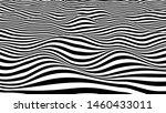 black and white hallucination.... | Shutterstock .eps vector #1460433011