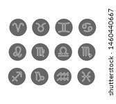 vector set of zodiac signs....