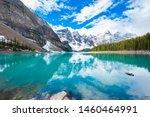 Moraine Lake In Banff  Canada