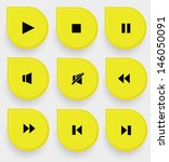 audio icons on yellow buttons...