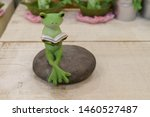 Cute Frog Doll Ornament Interior