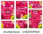 invitations on wedding day ...   Shutterstock .eps vector #1460545964