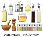 salt and paper containers ... | Shutterstock .eps vector #1460546024
