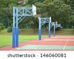basketball court  | Shutterstock . vector #146060081