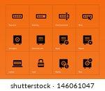 password icons on orange...