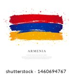 flag of armenia. vector... | Shutterstock .eps vector #1460694767