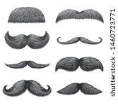 different styles of male... | Shutterstock .eps vector #1460723771