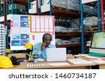 front view of mature african...   Shutterstock . vector #1460734187