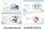 website collage care family... | Shutterstock .eps vector #1460819201