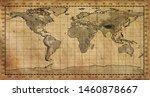 ancient art atlas  card ...   Shutterstock . vector #1460878667