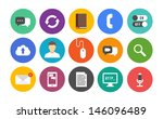 vector collection of colorful... | Shutterstock .eps vector #146096489