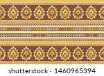 seamless traditional indian... | Shutterstock . vector #1460965394