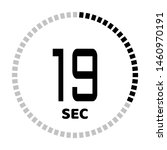 the 19 second countdown timer...
