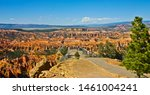 Panoramic View Of Overlook At...
