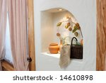 niche in a wall with various... | Shutterstock . vector #14610898