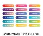 web colourful gradient button...   Shutterstock .eps vector #1461111701