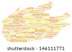 chicken word cloud concept | Shutterstock .eps vector #146111771