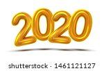 2020 number new year... | Shutterstock . vector #1461121127