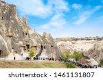 cappadocia  nevsehir  turkey ...   Shutterstock . vector #1461131807