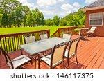 large residential wooden... | Shutterstock . vector #146117375