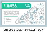fitness web banner  business...