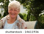 smiling stylish lady in her... | Shutterstock . vector #14611936