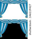 vector illustration of blue  ... | Shutterstock .eps vector #146119427
