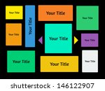 vector user interface template. ...