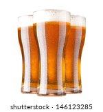 glasses of beer | Shutterstock . vector #146123285
