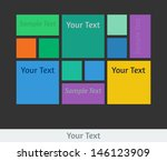 vector user interface template. ...
